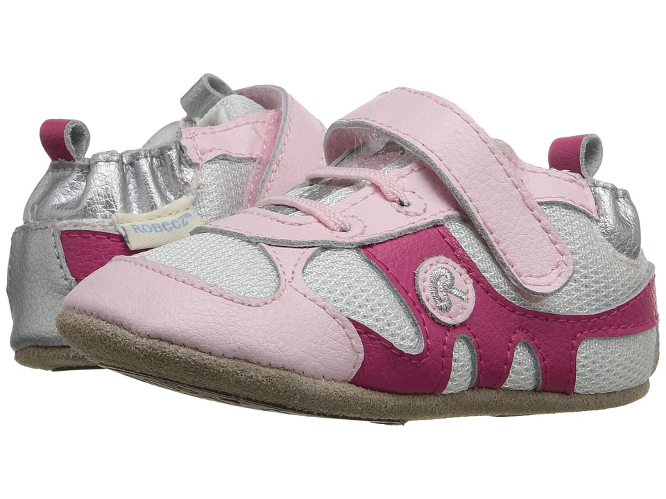 Robeez Kickin' Kali Mini Shoez (Infant/Toddler) (Pink) Girls Shoes