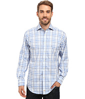 Thomas Dean & Co. - Long Sleeve Woven Shadow Multi Check