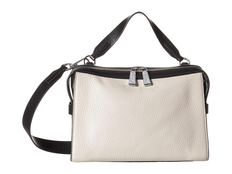 MICHAEL Michael Kors - Ingrid Medium Shoulder (Cement/Black) Shoulder Handbags