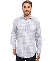 Thomas Dean & Co. - Long Sleeve Woven Check with Fil Coupe