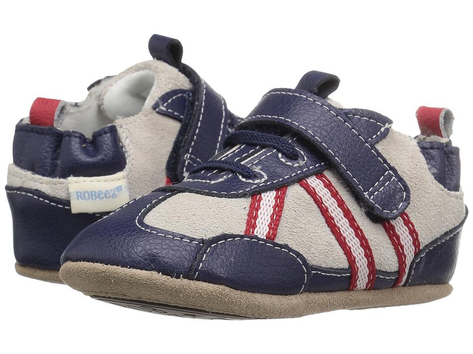 Robeez Joggin' Josh Mini Shoez (Infant/Toddler) (Navy) Boys Shoes