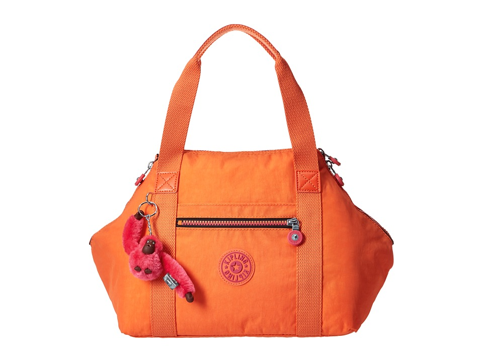 Kipling Art Satchel Riverside Crush Satchel Handbags