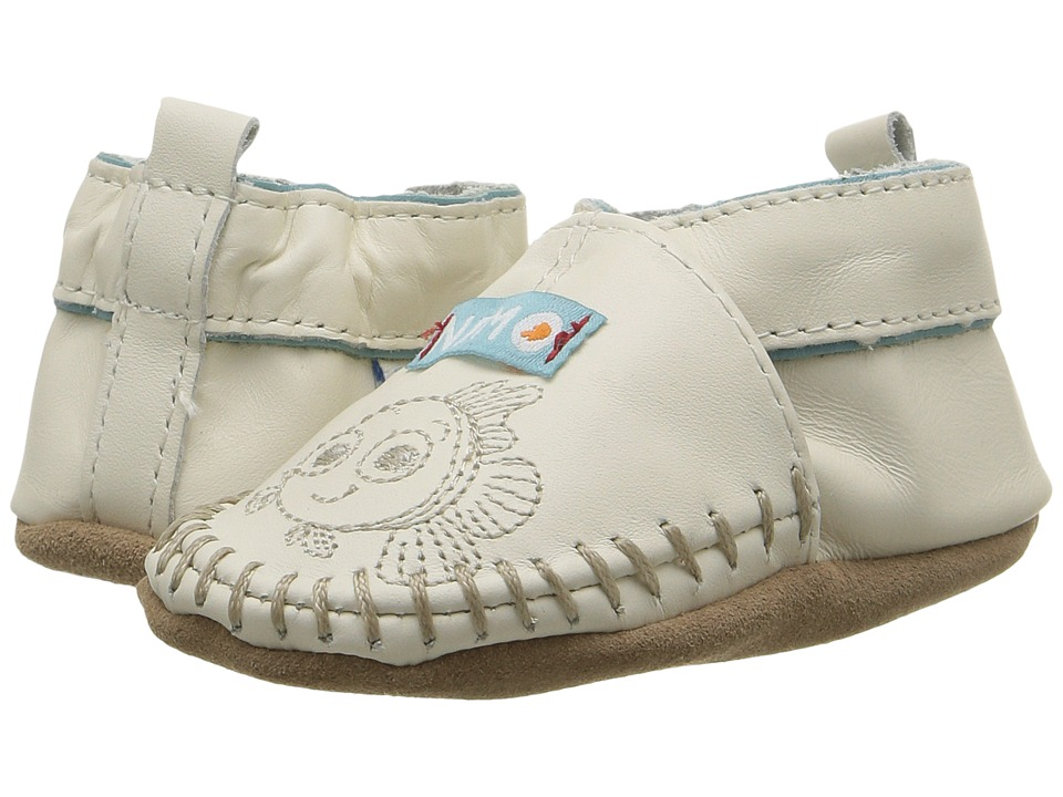 Robeez Disney Baby by Robeez Nemo Soft Sole (Infant/Toddler) (Light Ivory) Kids Shoes