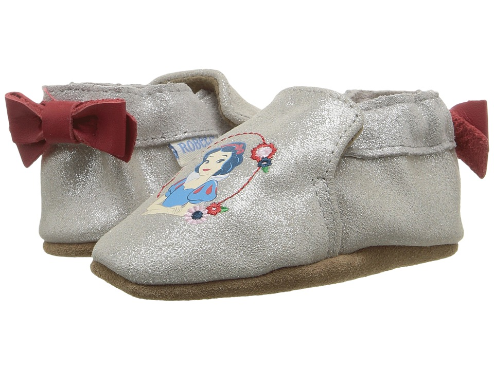 Robeez Disney Baby by Robeez Snow White Soft Sole (Infant/Toddler) (Light Ivory) Girls Shoes