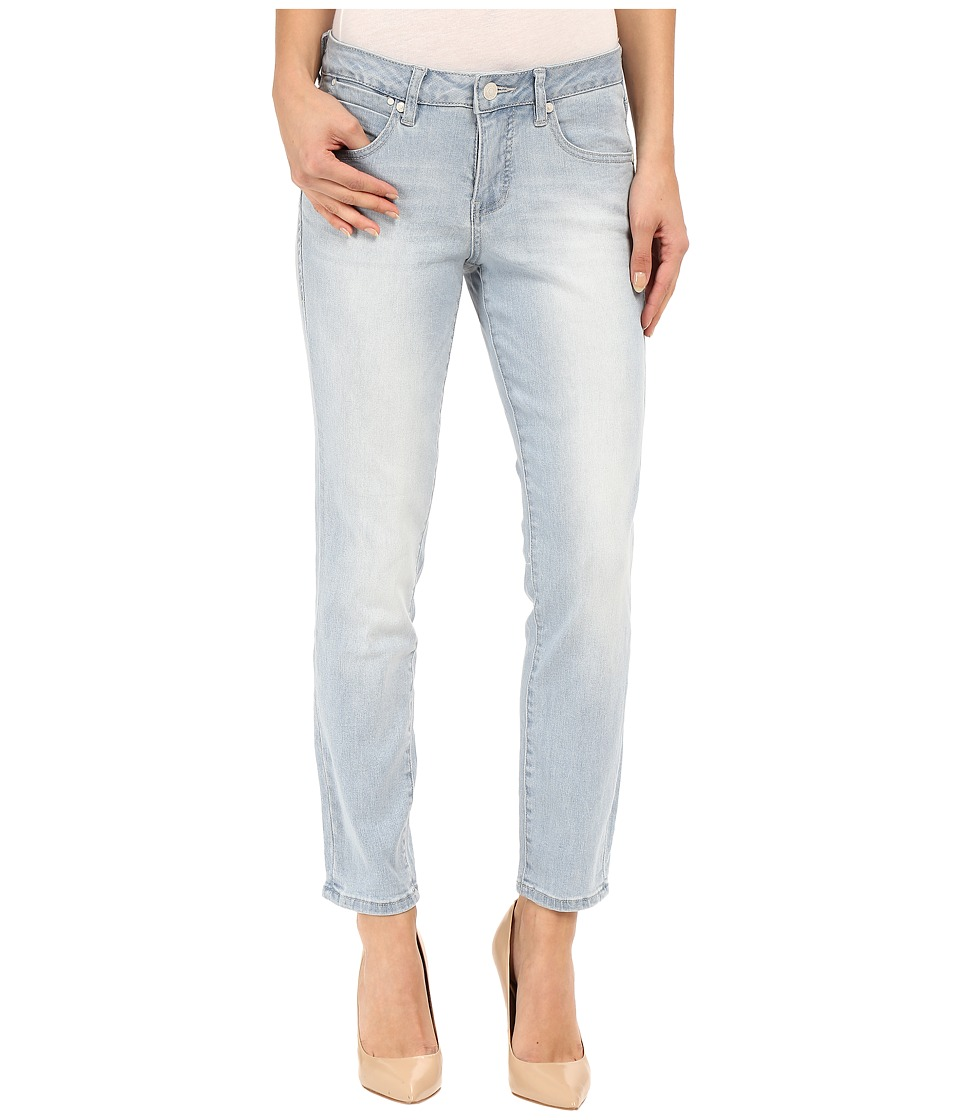 Jag Jeans Penelope Mid Rise Slim Ankle in Republic Denim Blue Wonder Womens Jeans
