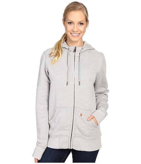Carhartt Sandpoint Zip Front Sweatshirt - Asphalt Heather