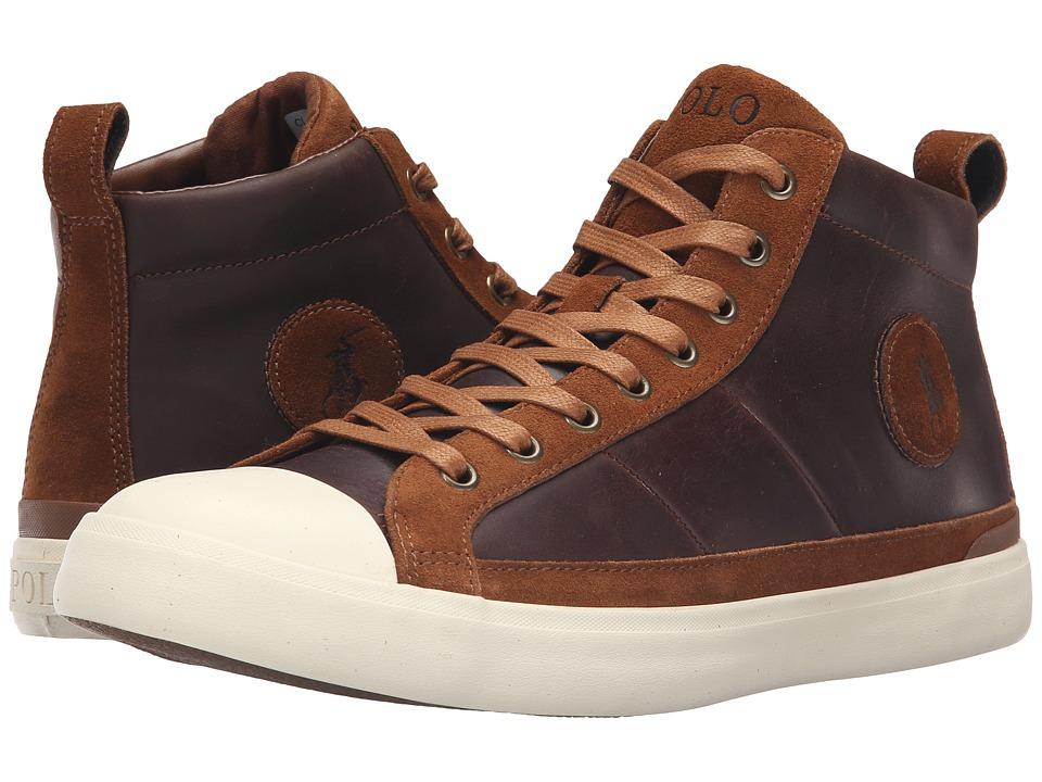 Polo Ralph Lauren Clarke (Tan Smooth Oil Leather/Sport Suede) Men