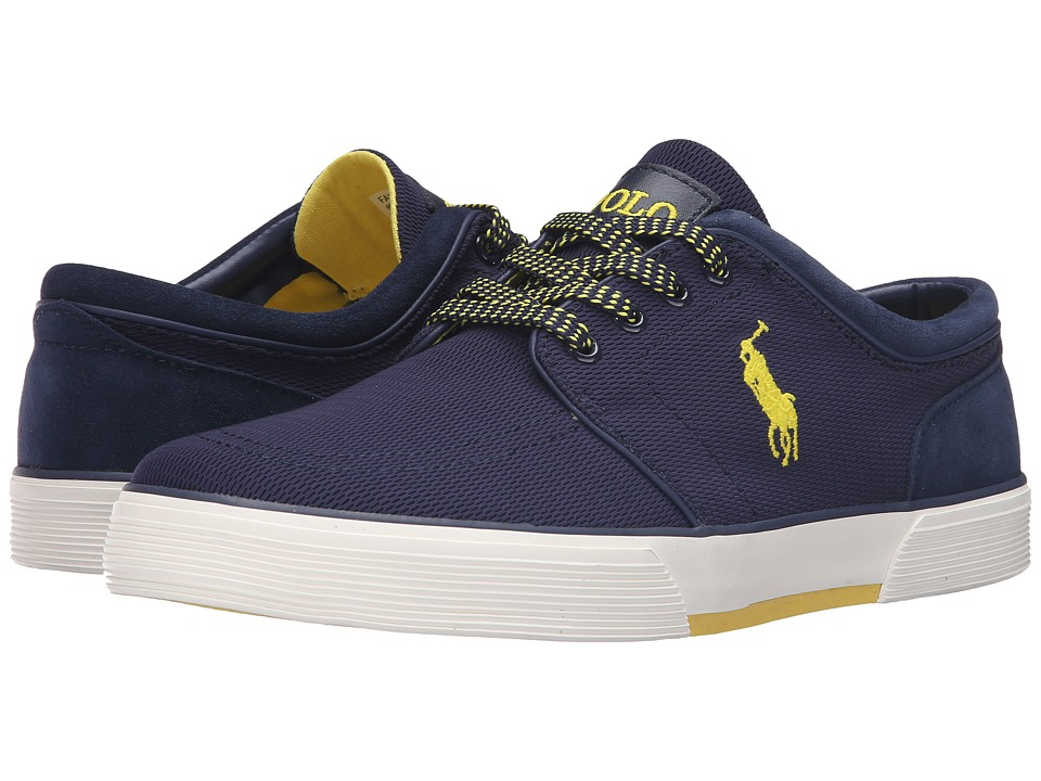 Polo Ralph Lauren Faxon Low (Navy Oval Mesh) Men