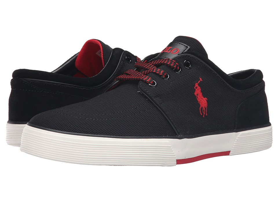 Polo Ralph Lauren Faxon Low (Black Oval Mesh) Men