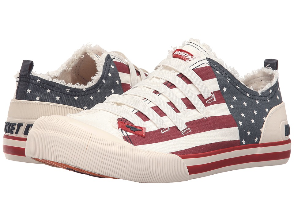 Rocket Dog Joint USA Canvas Womens Lace up casual Shoes