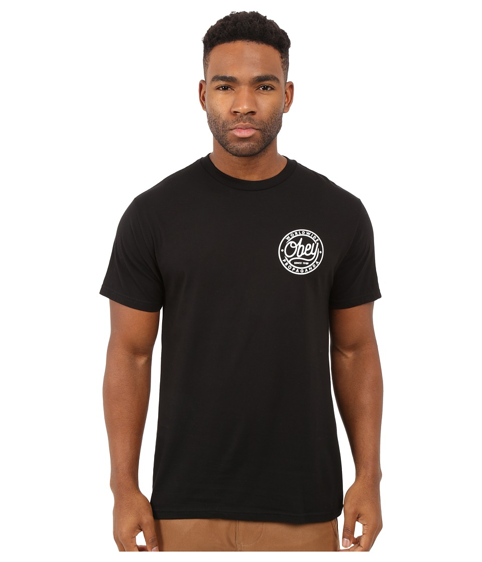 Obey - Since 1989 Premium Tee (Black) Men
