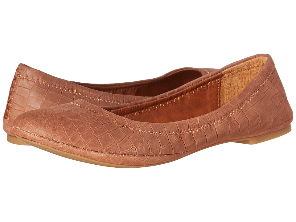 Lucky Brand Emmie (Toffee Nubuck Leather) Flats