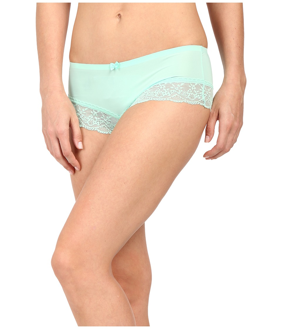 Free People Smooth French Knicker Boyshorts Mint Womens Underwear
