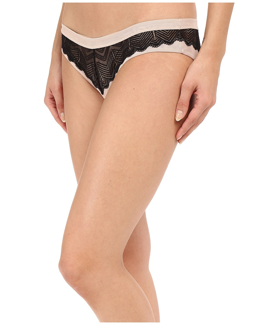 Free People Heartbeats Undie Black Womens Underwear