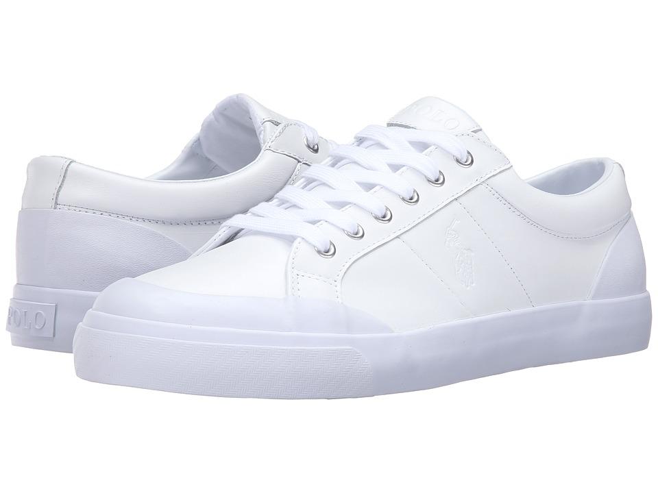 Polo Ralph Lauren Ian (White Smooth Sport Leather) Men