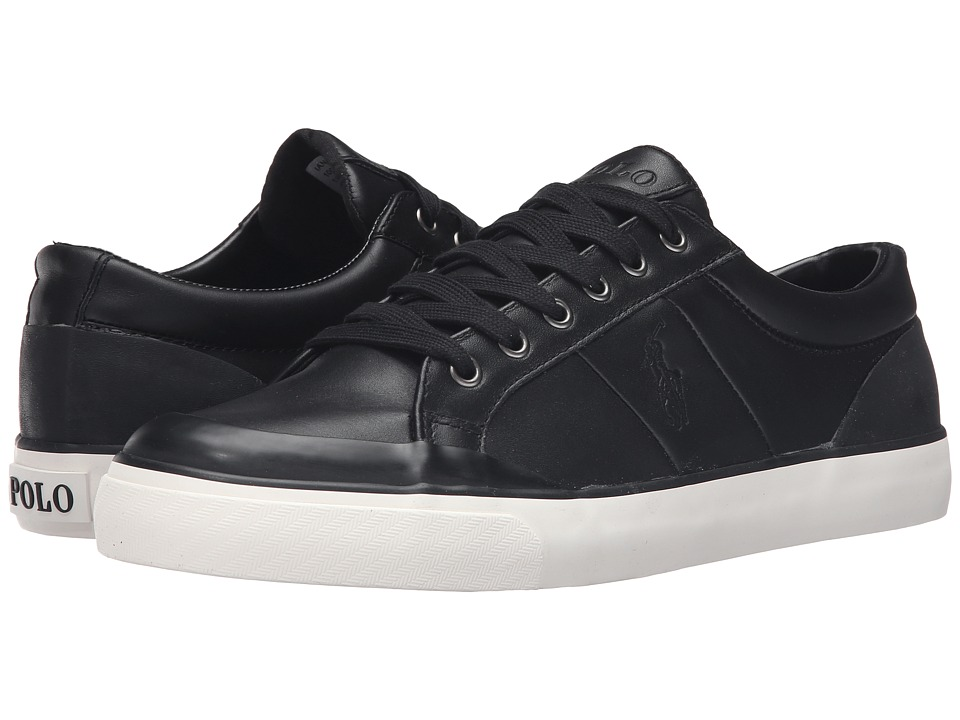Polo Ralph Lauren Ian (Black Smooth Sport Leather) Men