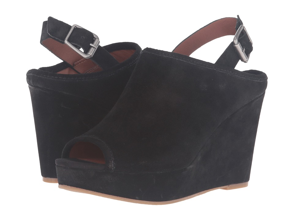 Lucky Brand Jemadine (Black Oil Suede) Women