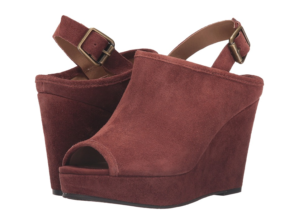 Lucky Brand - Jemadine (Russet Oil Suede) Women