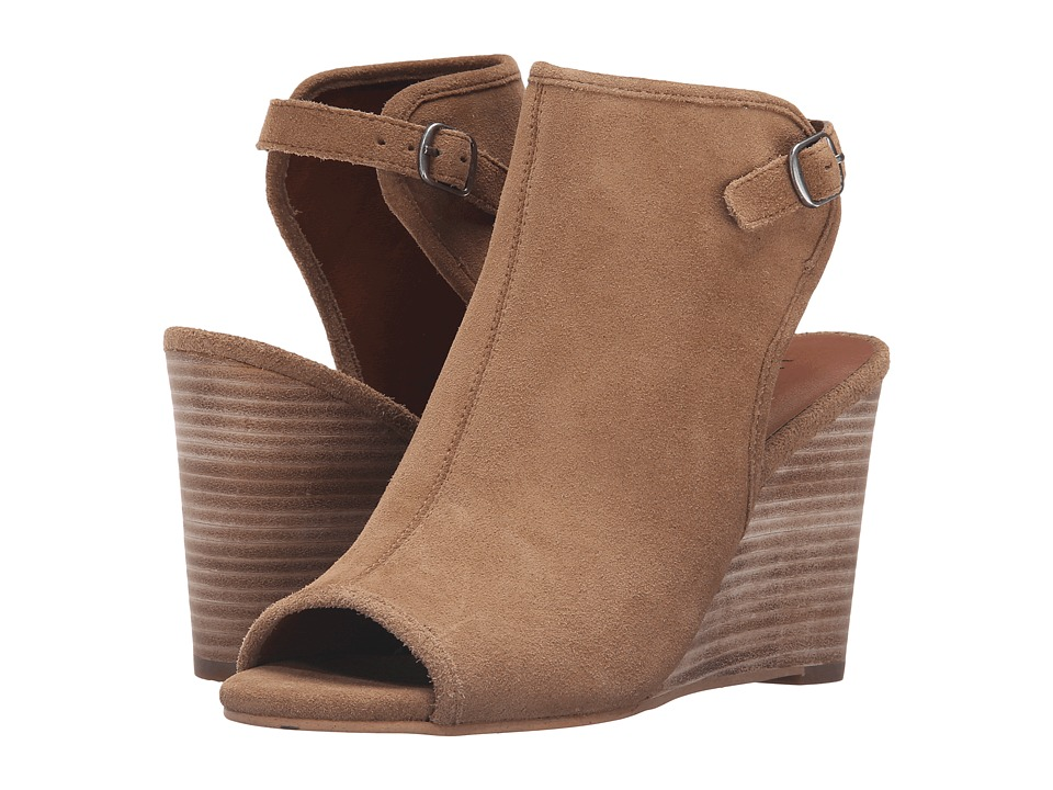 Lucky Brand - Risza (Sesame Oil Suede) Women