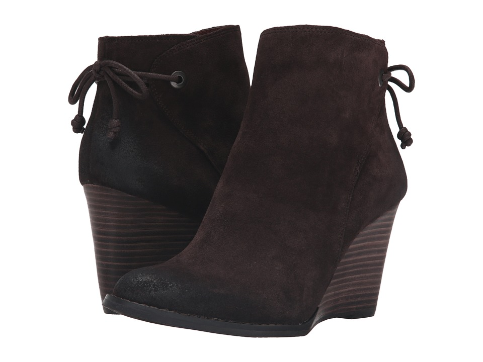 Lucky Brand - Yamina (Java Oil Suede) Women