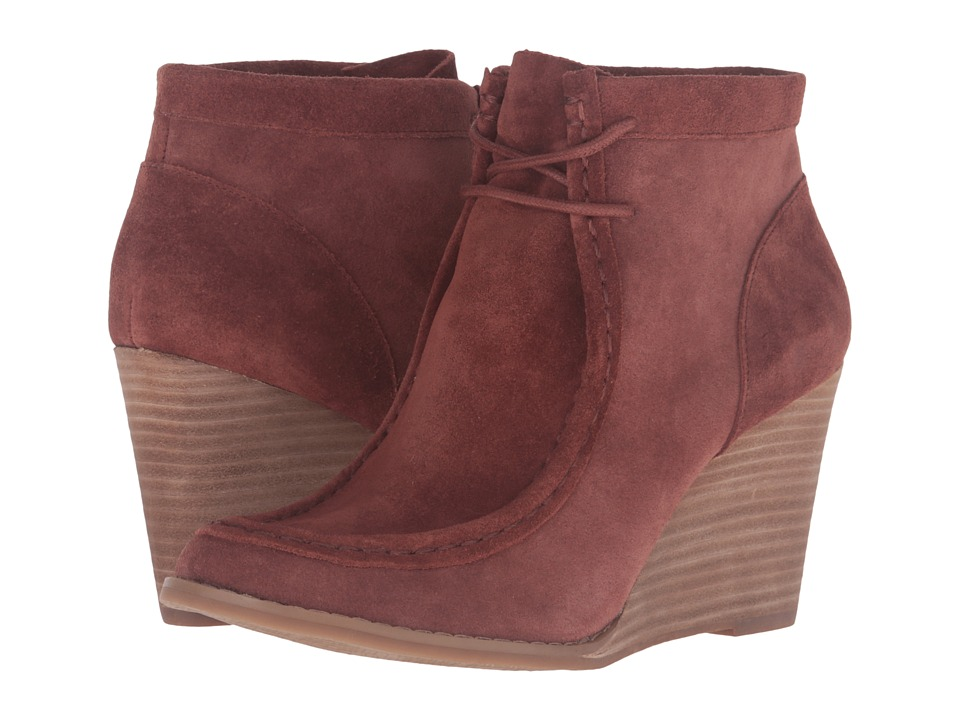 Lucky Brand - Ysabel (Russet Oil Suede) Women