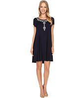 Karen Kane - Embroidered Maggie Trapeze Dress