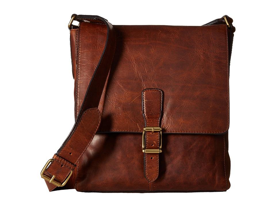 Frye - Logan Small Messenger (Cognac) Messenger Bags