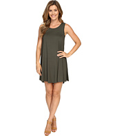 Karen Kane - Olive Green Maggie Trapeze Dress