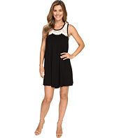Karen Kane - Lace Yoke Trapeze Dress