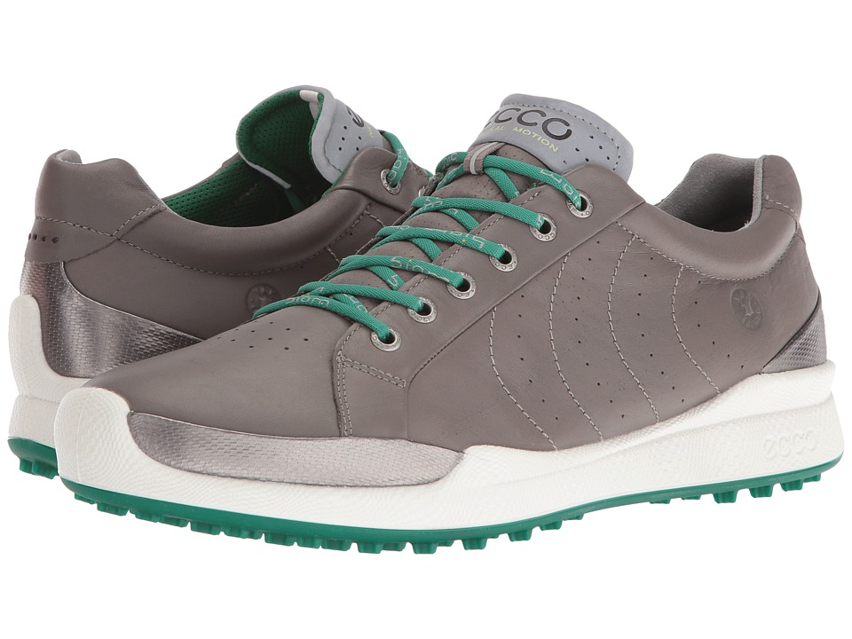 ECCO Golf BIOM Hybrid Hydromax (Warm Grey/Pure Green) Men