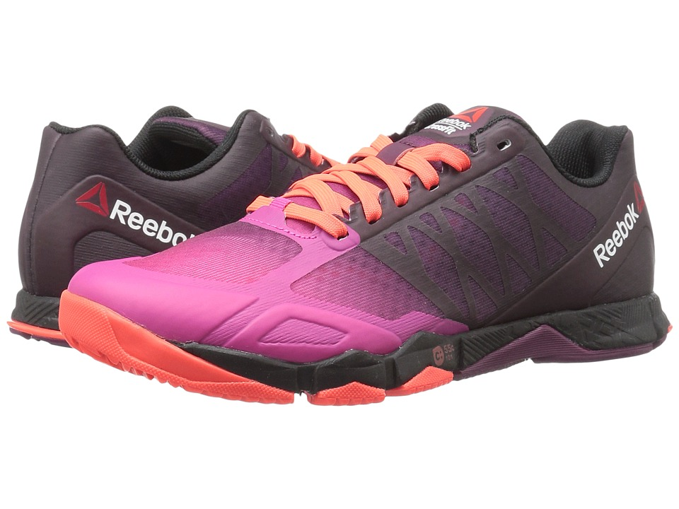 Reebok - Crossfit Speed TR (Rose Rage/Mystic Maroon/Atomic Red/Rebel Berry/Black) Womens Cross Training Shoes