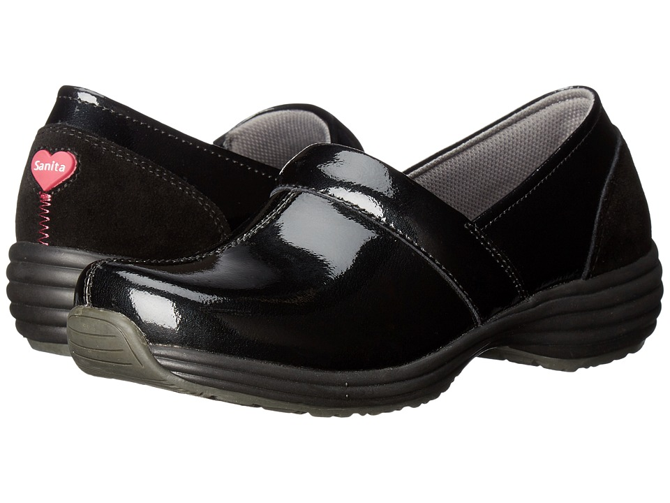 Sanita O2 Ease-Life (Black Patent) Women