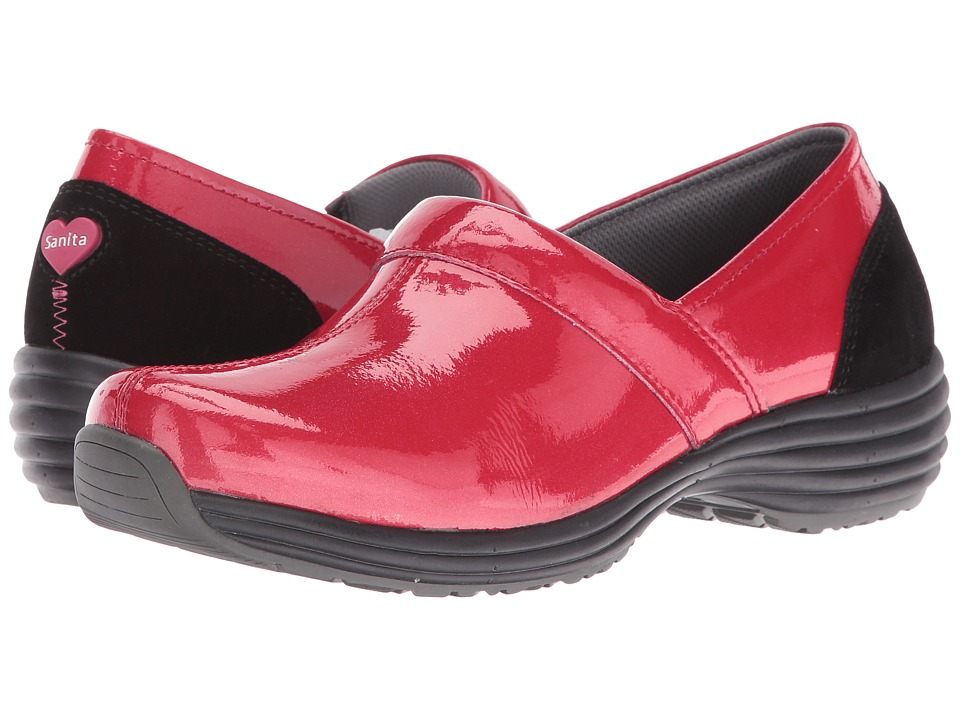 Sanita O2 Ease-Life (Red Patent) Women
