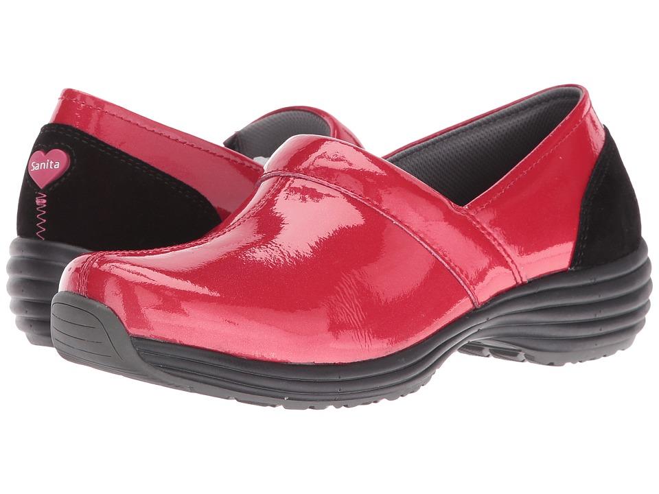 Sanita - O2 Ease-Life (Red Patent) Women