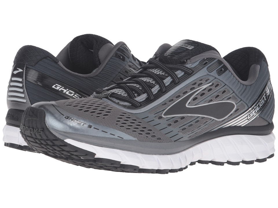Brooks Ghost 9 (Pavement/Anthracite/Black) Men