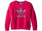 Everyday Iconics Trevoil Crew Sweatshirt (Toddler/Little Kids/Big Kids)