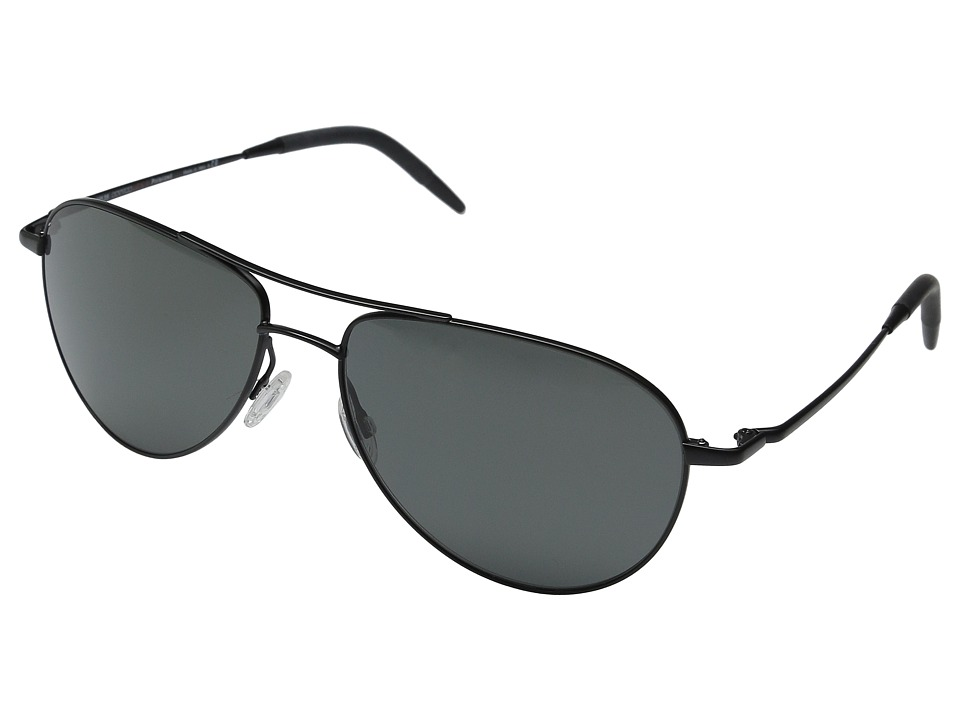 Oliver Peoples Benedict Matte Black/Graphite PLR VFX Fashion Sunglasses