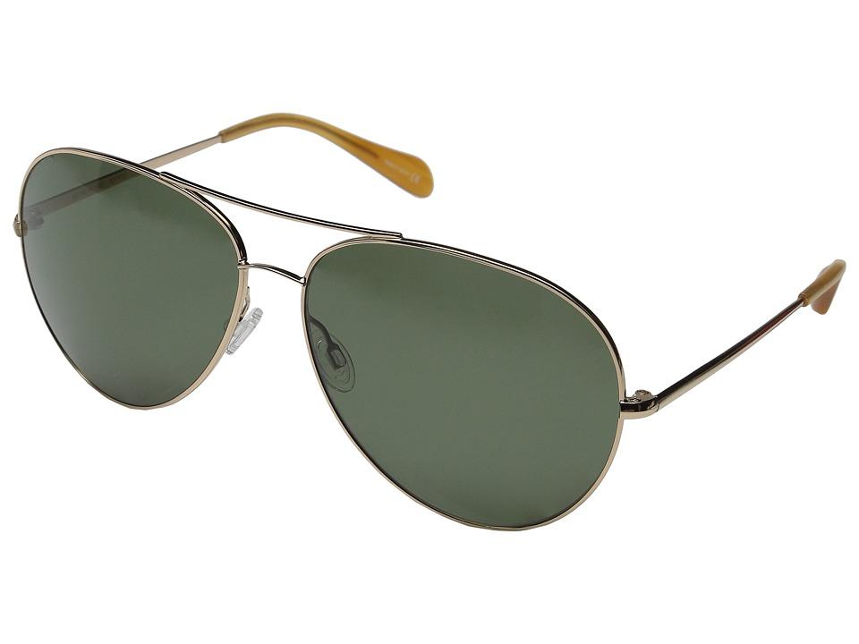 Oliver Peoples Sayer Custom Gold/G15 Nylon Fashion Sunglasses