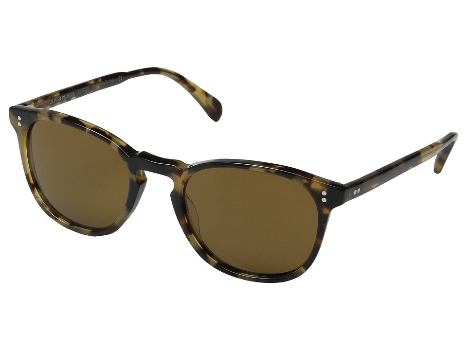 Oliver Peoples Finley Esq. Hickory Tortoise/Cosmik Tone Fashion Sunglasses