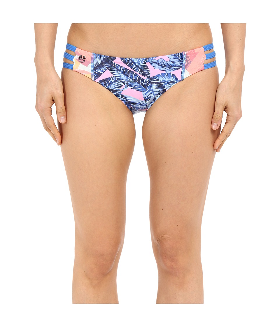 Maaji Belle Epoque Signature Cut Bottoms Multicolor Womens Swimwear