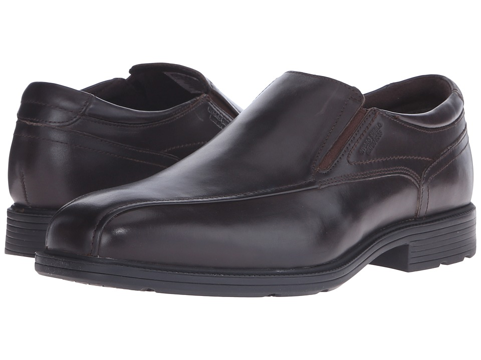 Rockport Bondholder Bike Slip On Dark Bitter Chocolate Mens Slip on Shoes