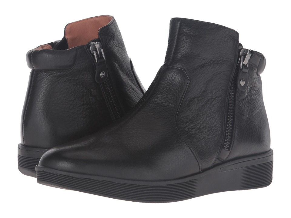 Gentle Souls Harper (Black Leather) Women