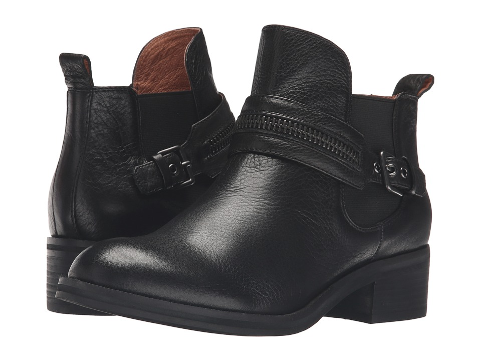 Gentle Souls Penny (Black Leather) Women
