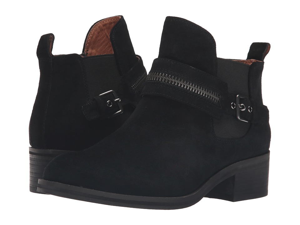 Gentle Souls Penny (Black Suede) Women
