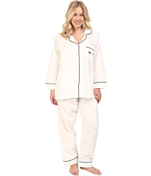BedHead - Plus Size Long Sleeve Classic Bottom Pajama Set