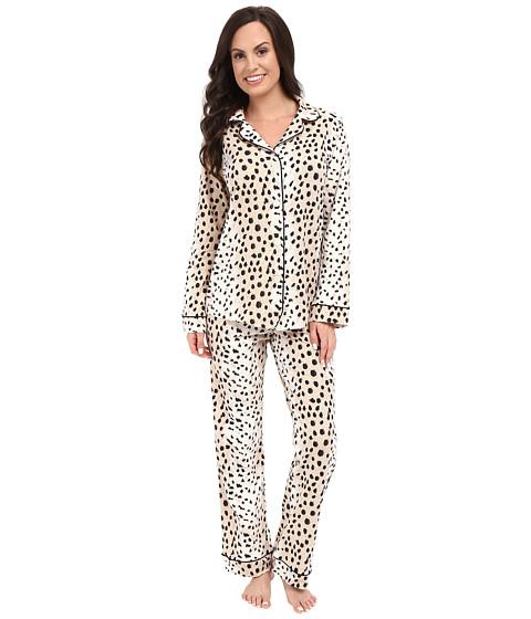 BedHead Long Sleeve Classic Bottom Pajama Set - Royal Animal