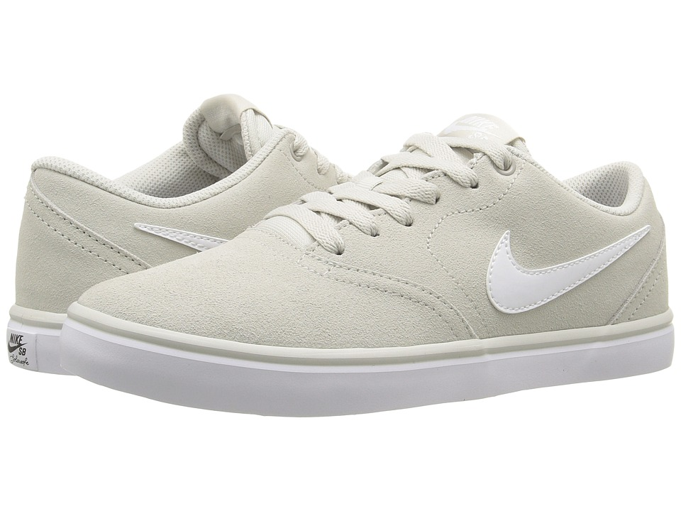 Nike SB Check Solar Suede (Light Bone/White) Men