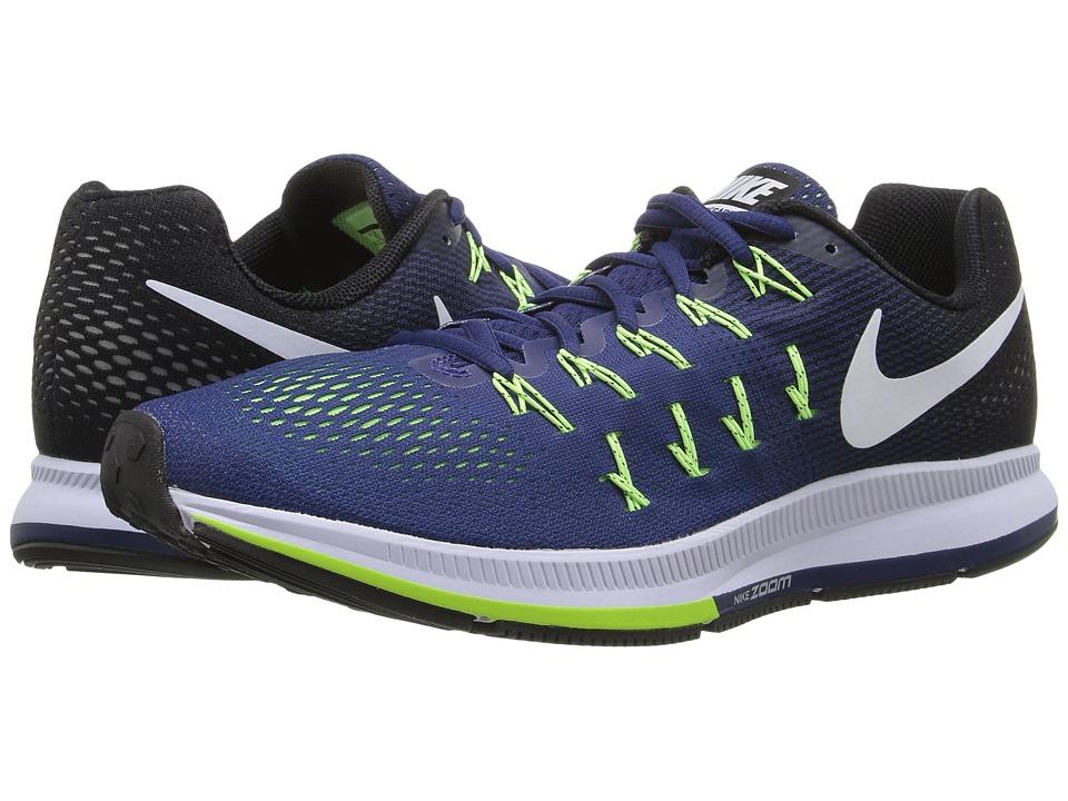 Nike Air Zoom Pegasus 33 (Loyal Blue/Black/Ghost Green/White) Men