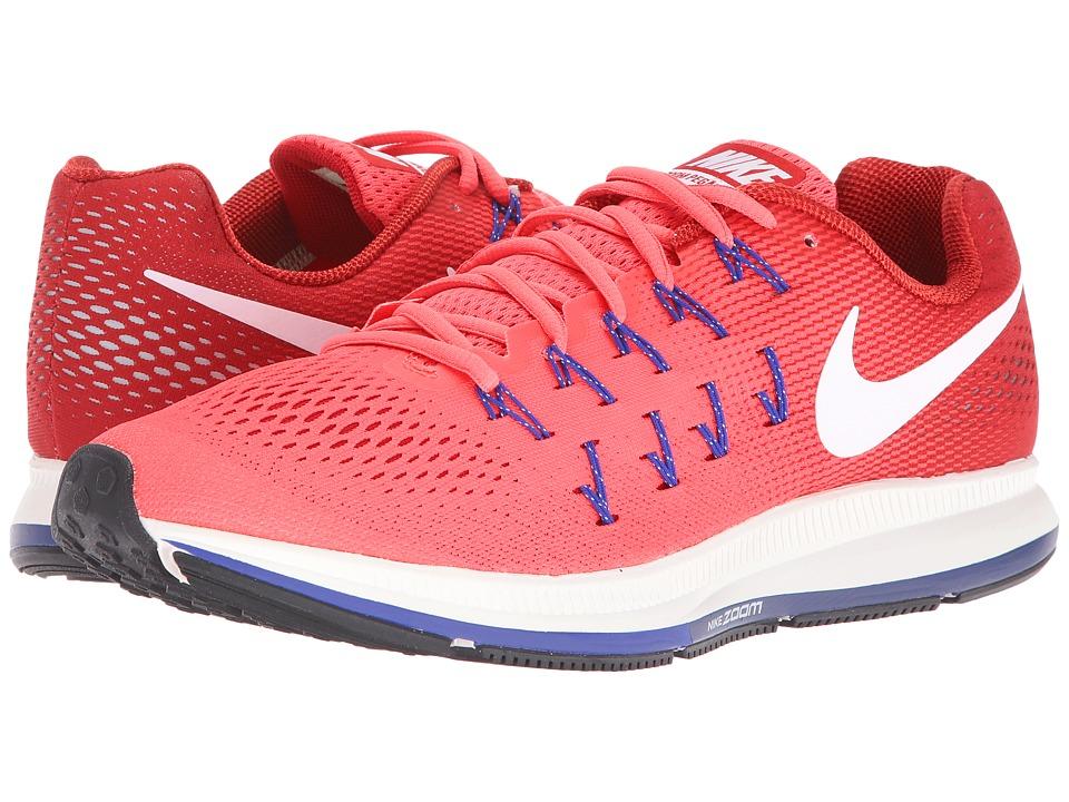 Nike Air Zoom Pegasus 33 (Ember Glow/Gym Red/Loyal Blue/White) Men