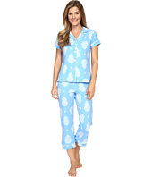 BedHead - Short Sleeve Cropped Bottom Pajama Set